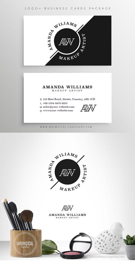 Logo + Businesscards- Elegnat Blogger Fashion, Makeup Artist ...
