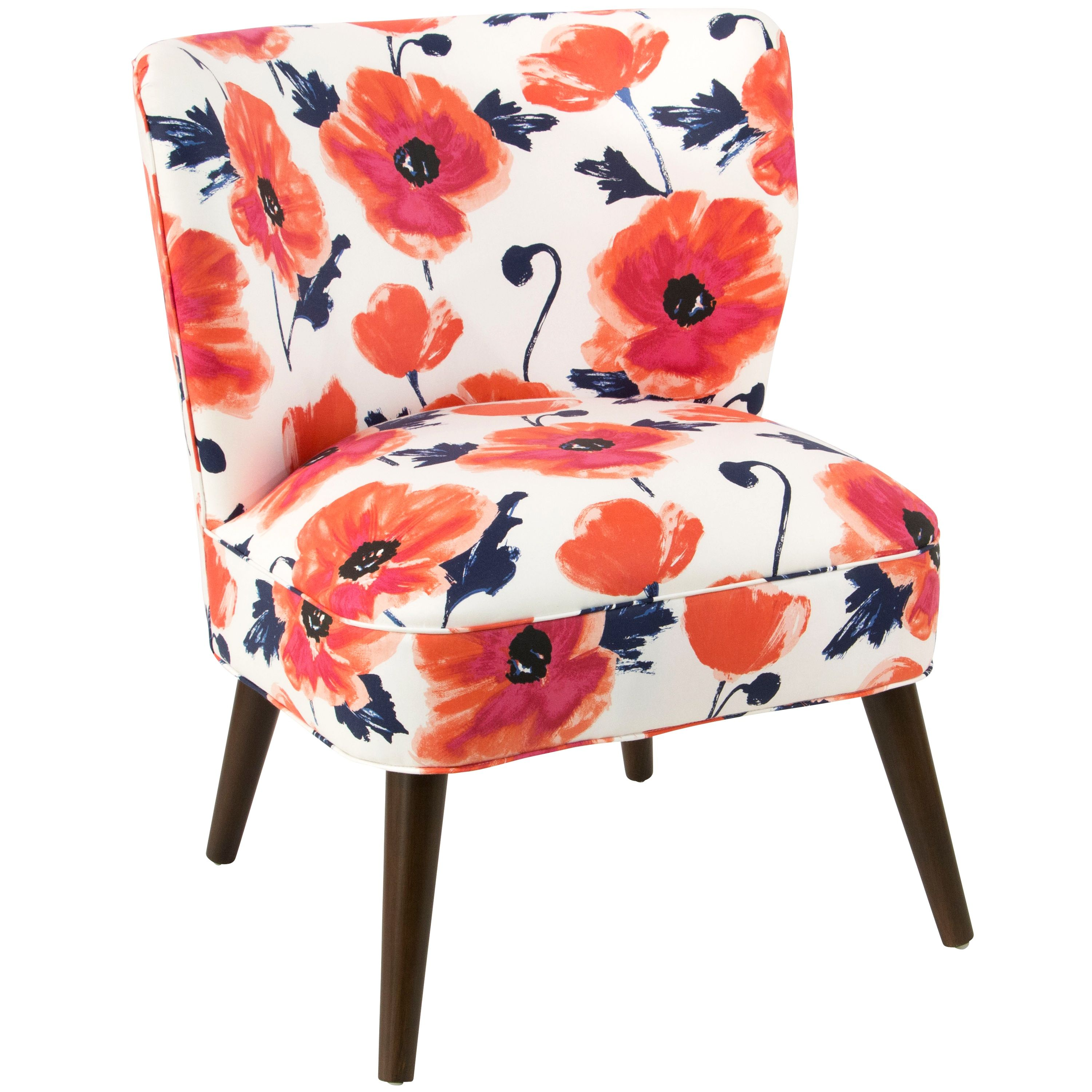The Punchy Pattern Of This Chair Will Bring Instant