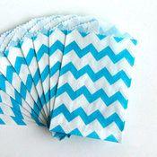 Chevron Paper Bags
