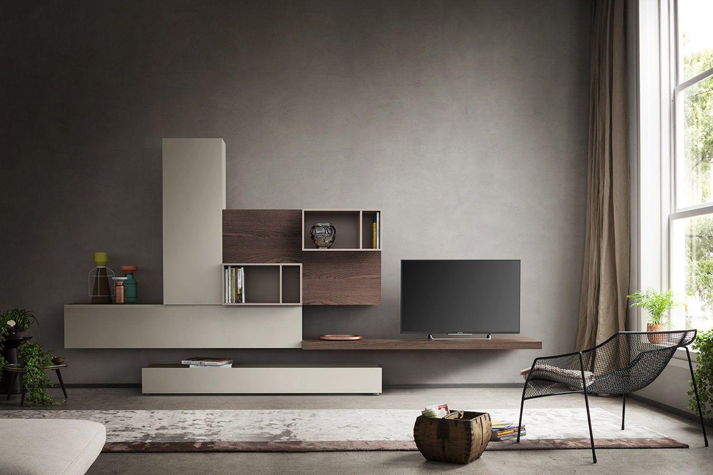 Arredare Parete ~ Preferisci il marrone per il tuo soggiorno? scegli mobili soggiorno