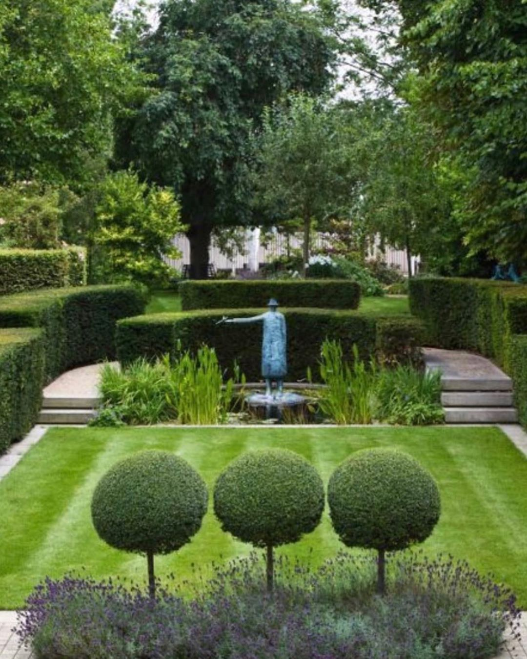 """Kelly Behun on Instagram """"private garden in Surrey"""
