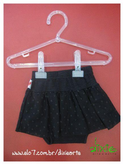 Saia Infantil Onçinha com calçinha  Disponivel para meninas de até 6 meses R$39,00