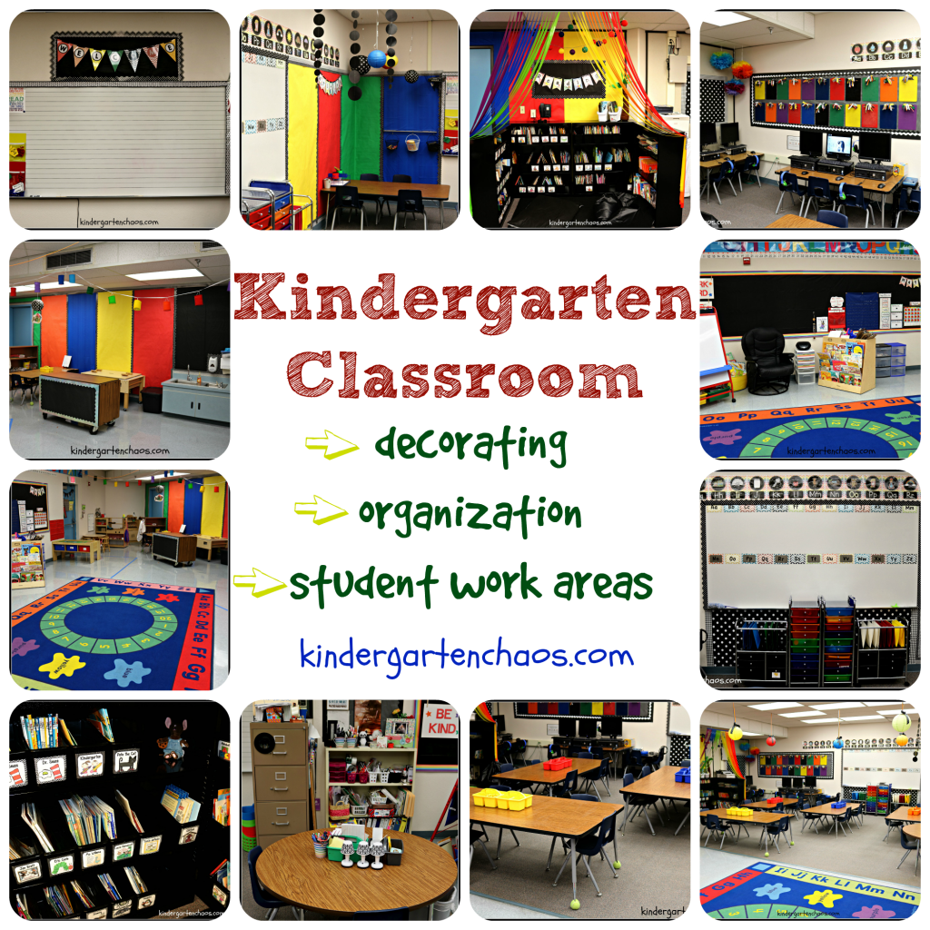 How Classroom Decor Affects Students ~ My kindergarten classroom reveal organization