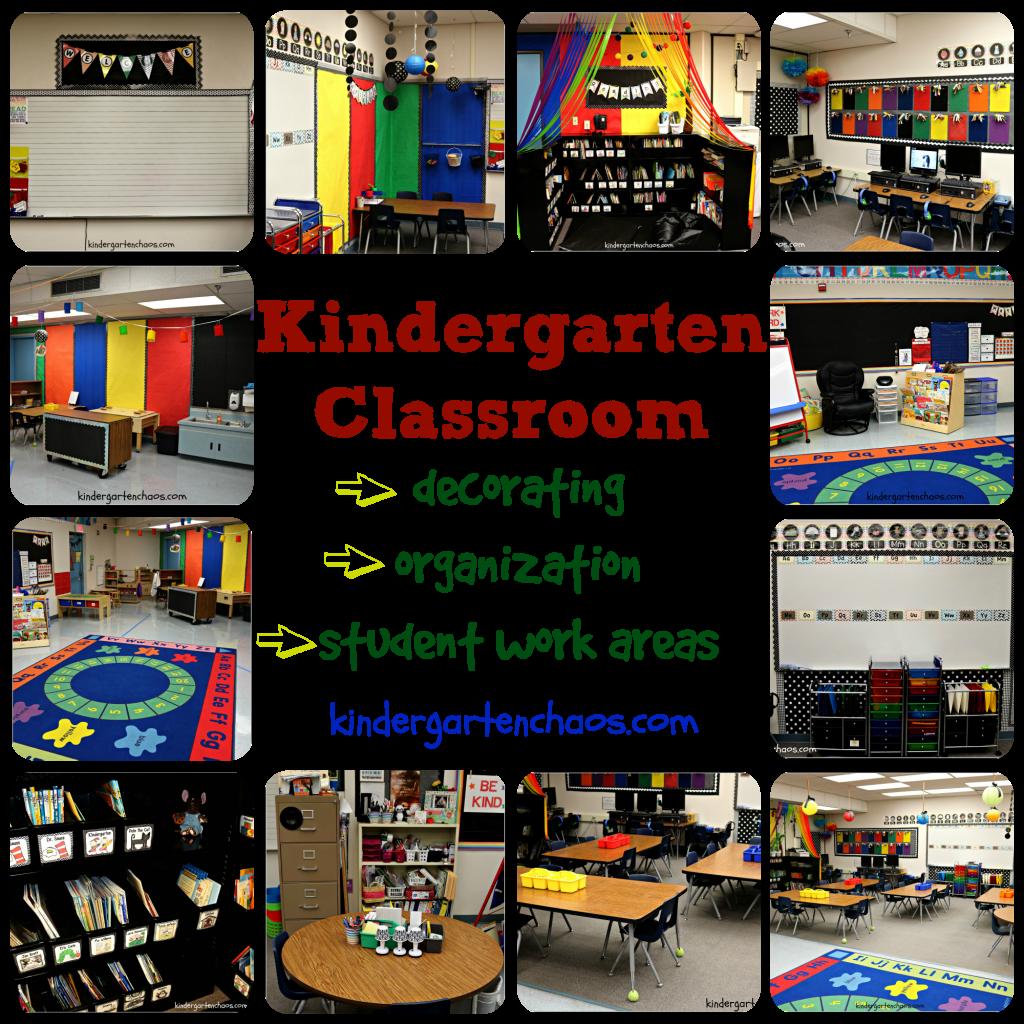 How Classroom Decor Affects Students ~ My kindergarten classroom reveal organization