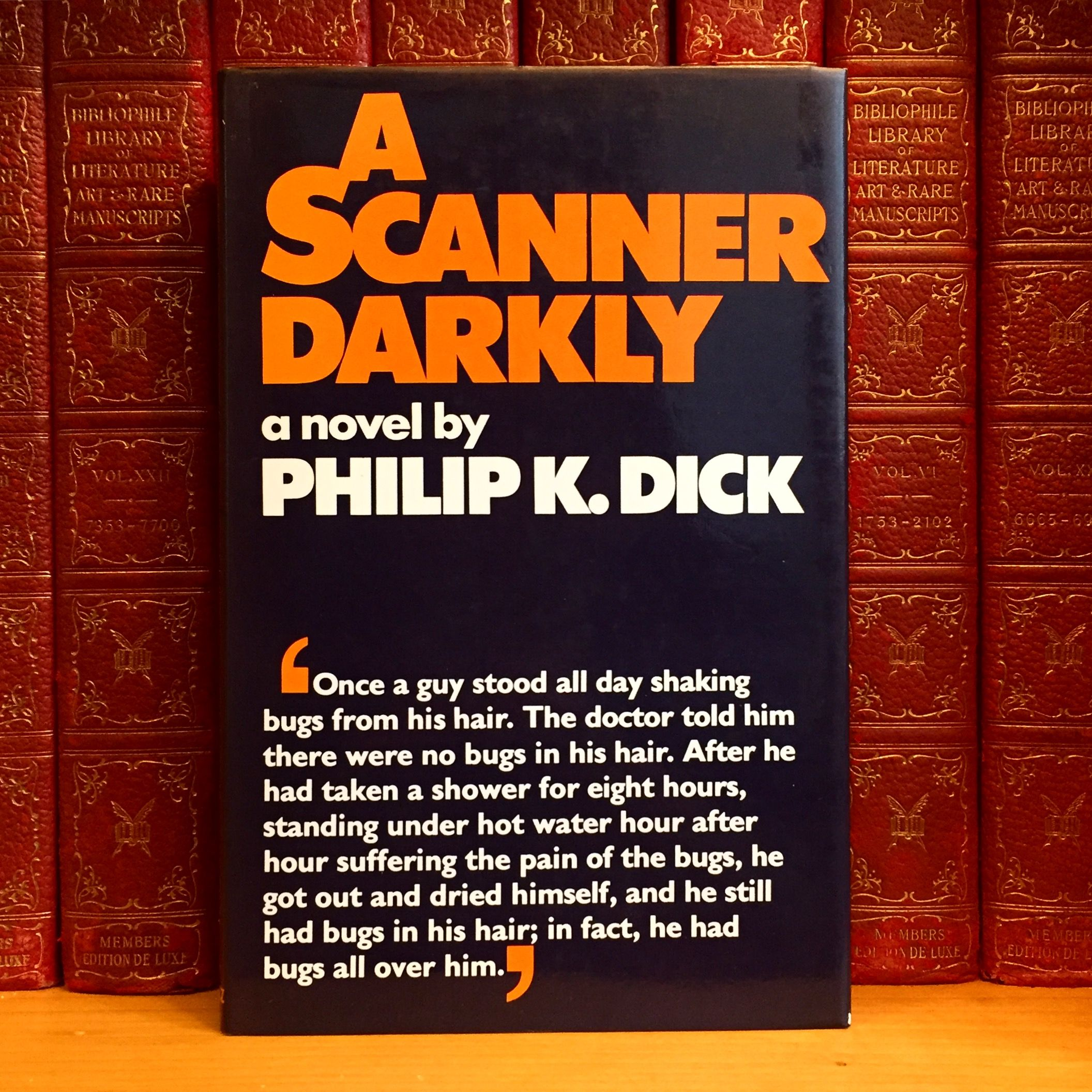 A Scanner Darkly, Philip K. Dick. First UK Edition — The Rare Book Sleuth