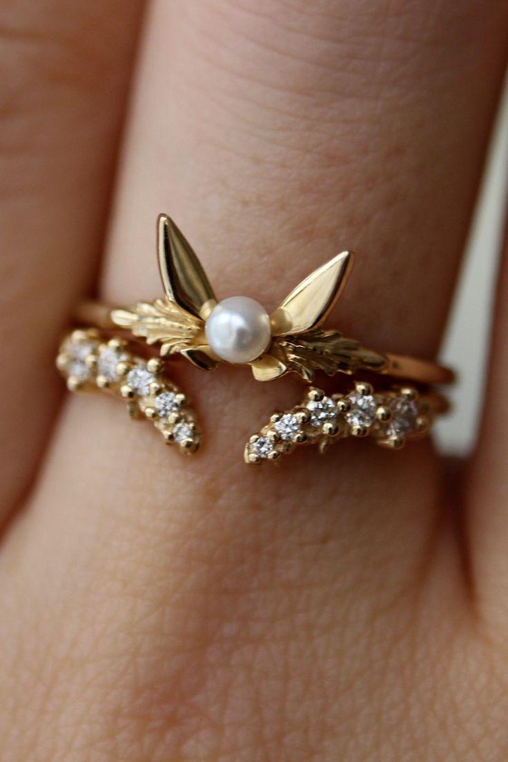 Der Fairy Companion Ring und das Band des Flusses sehen so gut zusammen aus Der Fairy Companion Ring und das Band des Flusses sehen so gut zusammen aus