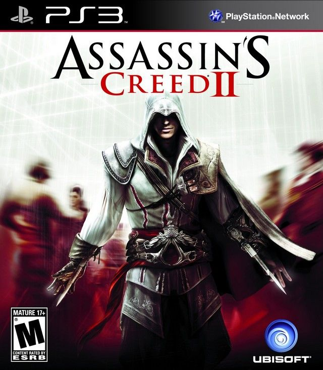 Kết quả hình ảnh cho Assassin's Creed 2 - Ultimate Edition cover ps3