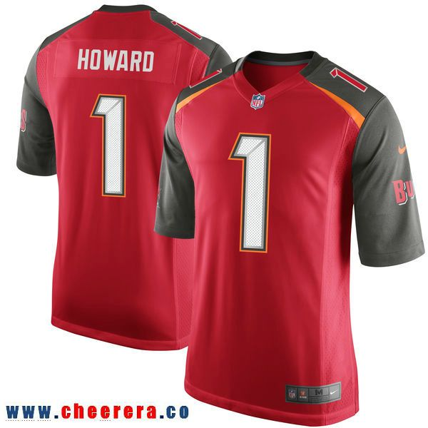 39f1c0eb8 ... czech nike tampa bay buccaneers 1 o.j. howard red 2017 draft pick elite  jersey 3c95e 58076