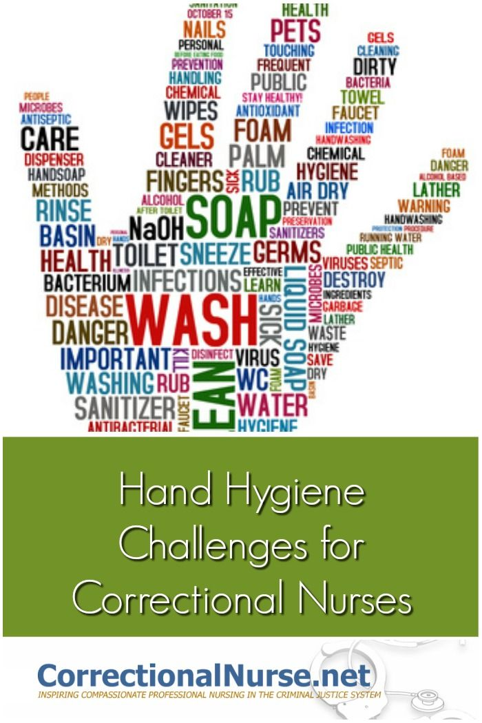 Hand Hygiene Challenges For Correctional Nurses Hand Hygiene