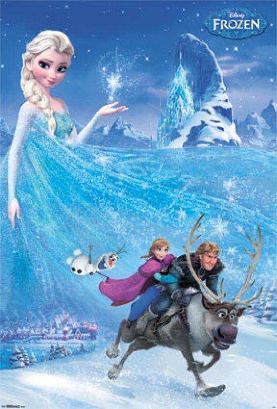 Mural - Frozen Laminated Poster Print (42 x 62)