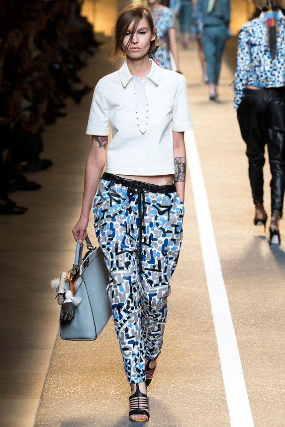 Fendi Spring 2015 RTW – Runway – Vogue