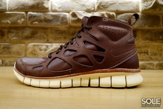 nike free sneaker boot leather for sale
