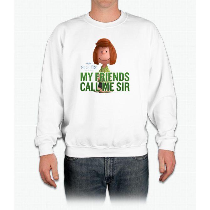 Peppermint Patty - Call Me Sir Movie Crewneck Sweatshirt