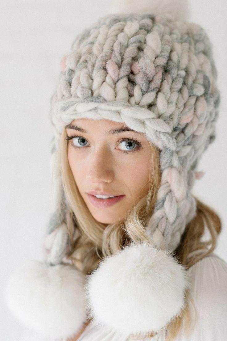 Pom Bomb Hat Pattern Chunky Knit Hat Hat Pattern