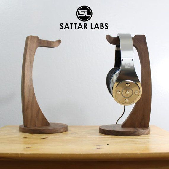 Headphone Stand Made Out Of Solid