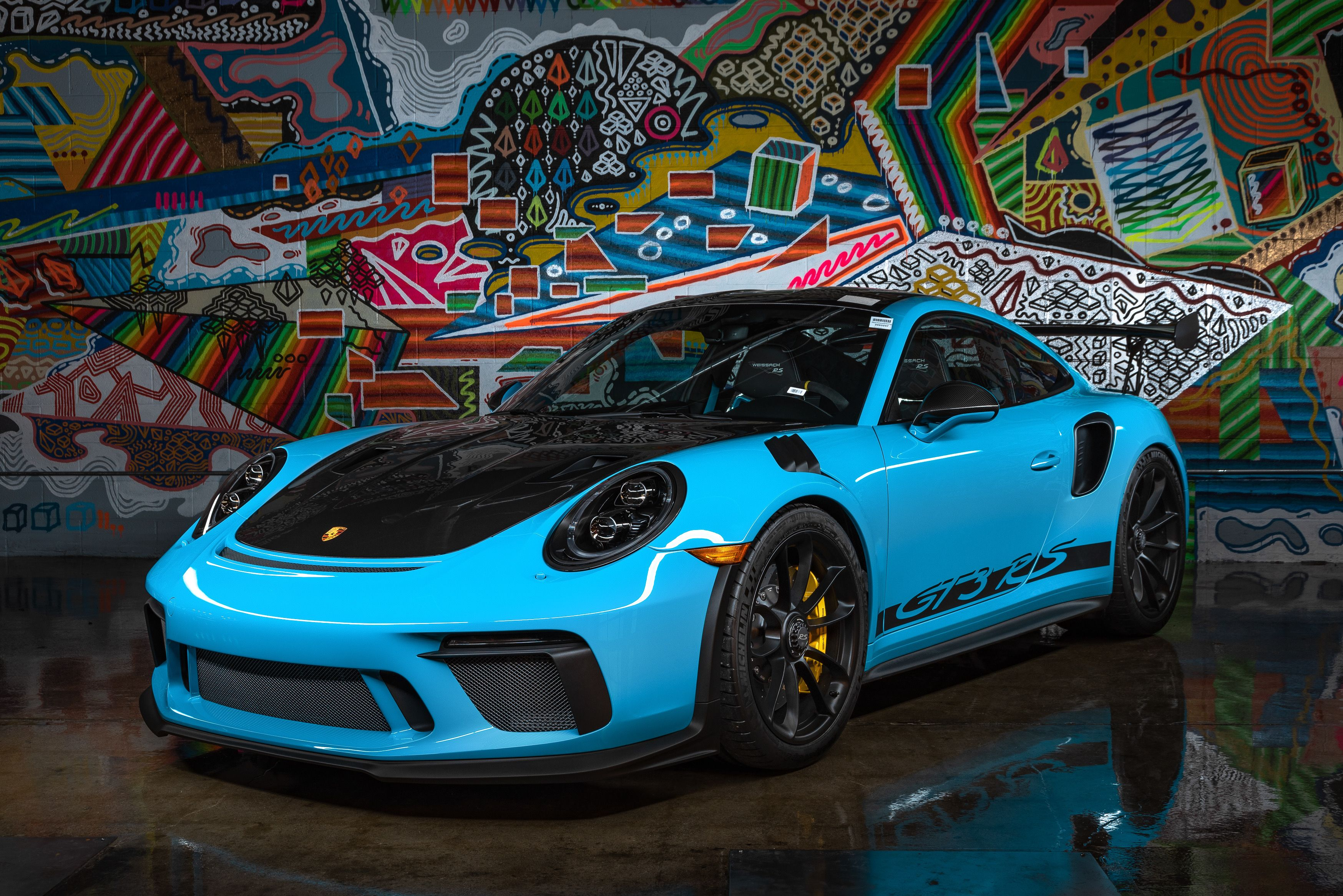 Our SPECtacular 2019 #Porsche GT3 RS in Miami Blue over ...