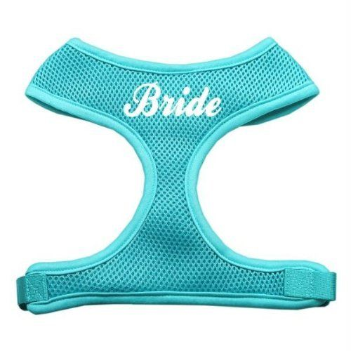 Mirage Pet Products Bride Screen Print Soft Mesh Dog Harnesses Small Aqua >>> Check this awesome product by going to the link at the image.Note:It is affiliate link to Amazon.