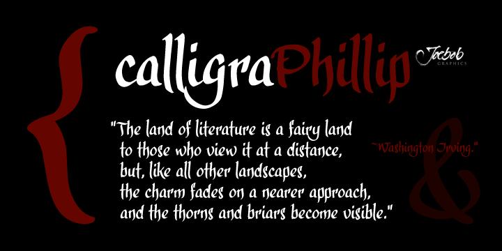calligraPhillip - Webfont & Desktop font « MyFonts