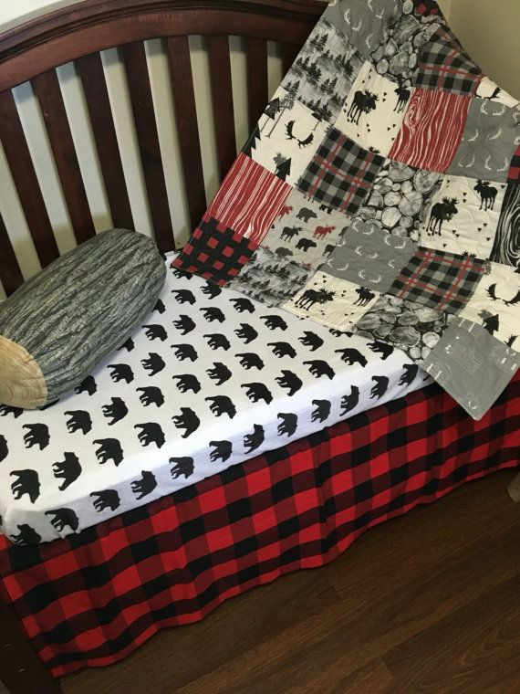 The Woodsman S Lumberjack Nursery Collection By Ockbaby On Etsy