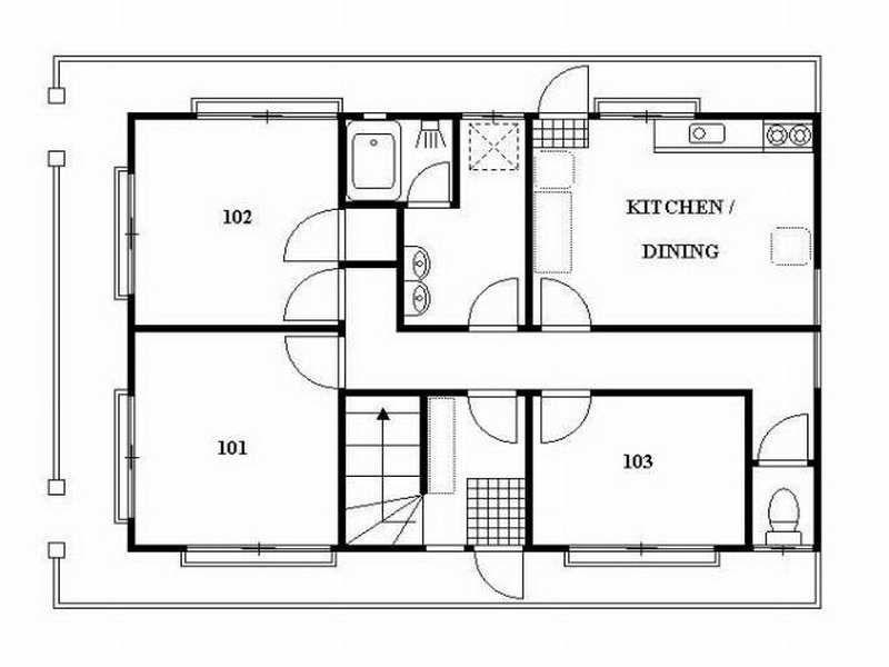 Japanese House Floor Plans guest-house-floor-plans-japan-style (800×600) | home ideas