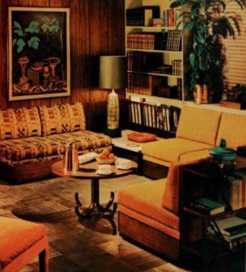 Pin van Amanda McBryde op 60s & 70s | Pinterest - Interieur