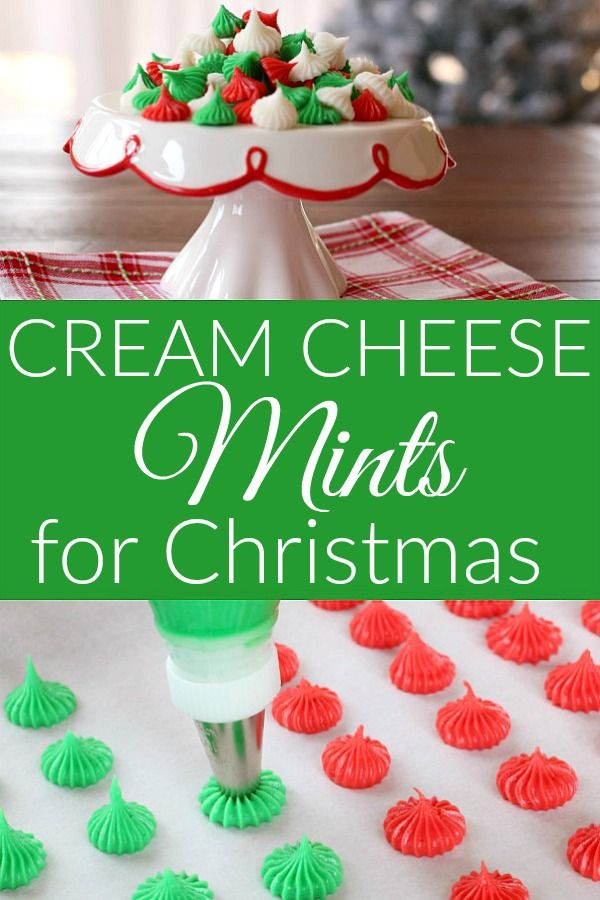 Cream Cheese Mints for Christmas – Hoosier Homemade