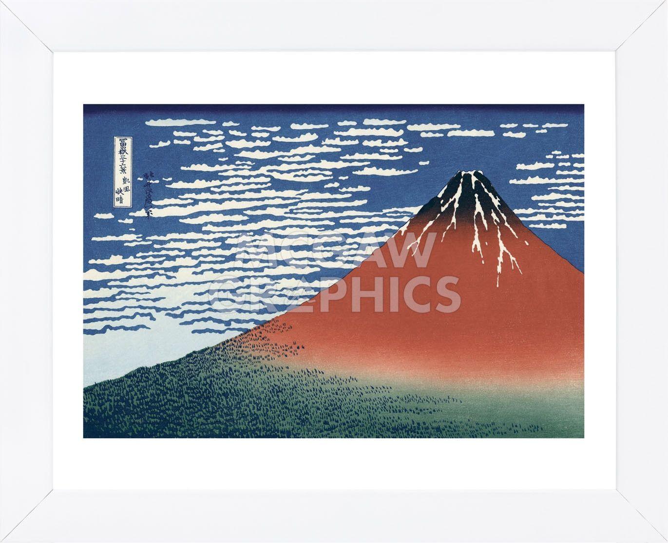 Red Fuji (Framed)