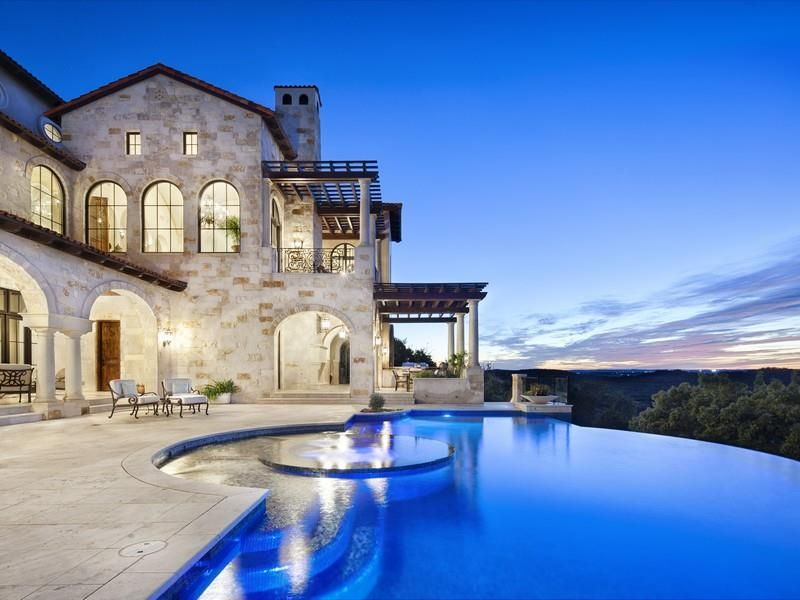 infinity pool united states. Luxury Real Estate In Austin, TX, USA - Villa Ascosa JamesEdition Infinity Pool United States