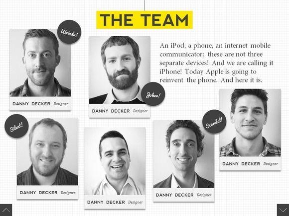 Fancy Scroll PowerPoint Template | Pinterest | Presentation ...