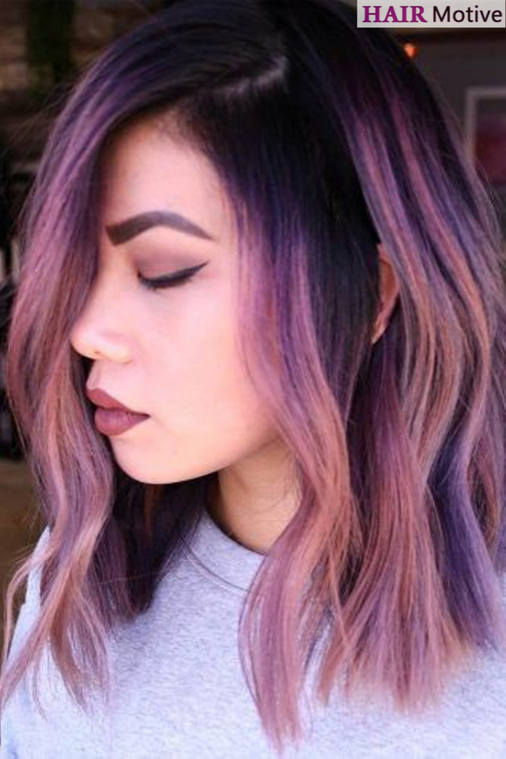 Unicorn hair. Mermaid hair. Cotton candy hair. No matter what label you  stick on it, the essence remains the s… | Mermaid hair color, Medium hair  styles, Candy hair