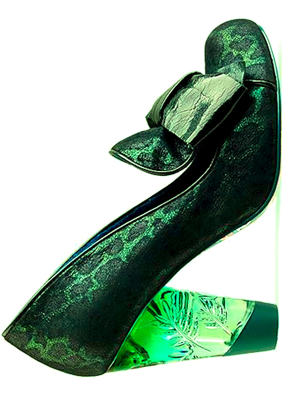 Irregular Choice... I love this green !!! This just makes me think of Wicked (the musical)!!!!