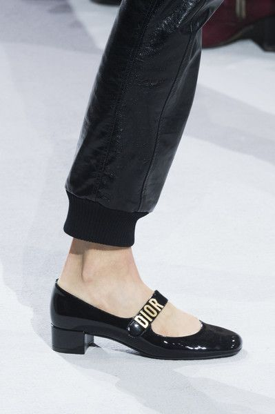 5ceeadc11 Christian Dior at Paris Fashion Week Spring 2018 - The Most Daring Runway  Shoes at Paris Fashion Week - Photos