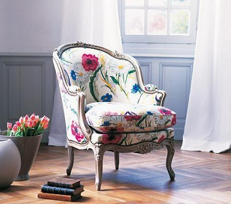 Estampados Florales En Muebles De Dise O Ideas Para