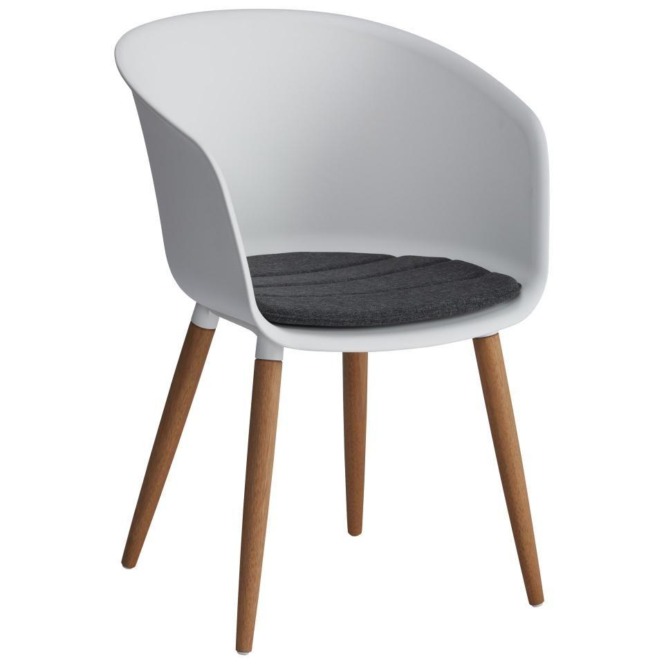Chaise De Jardin Ontario Blanc Jysk En 2020 Chaise De Jardin Chaise Relax Chaise