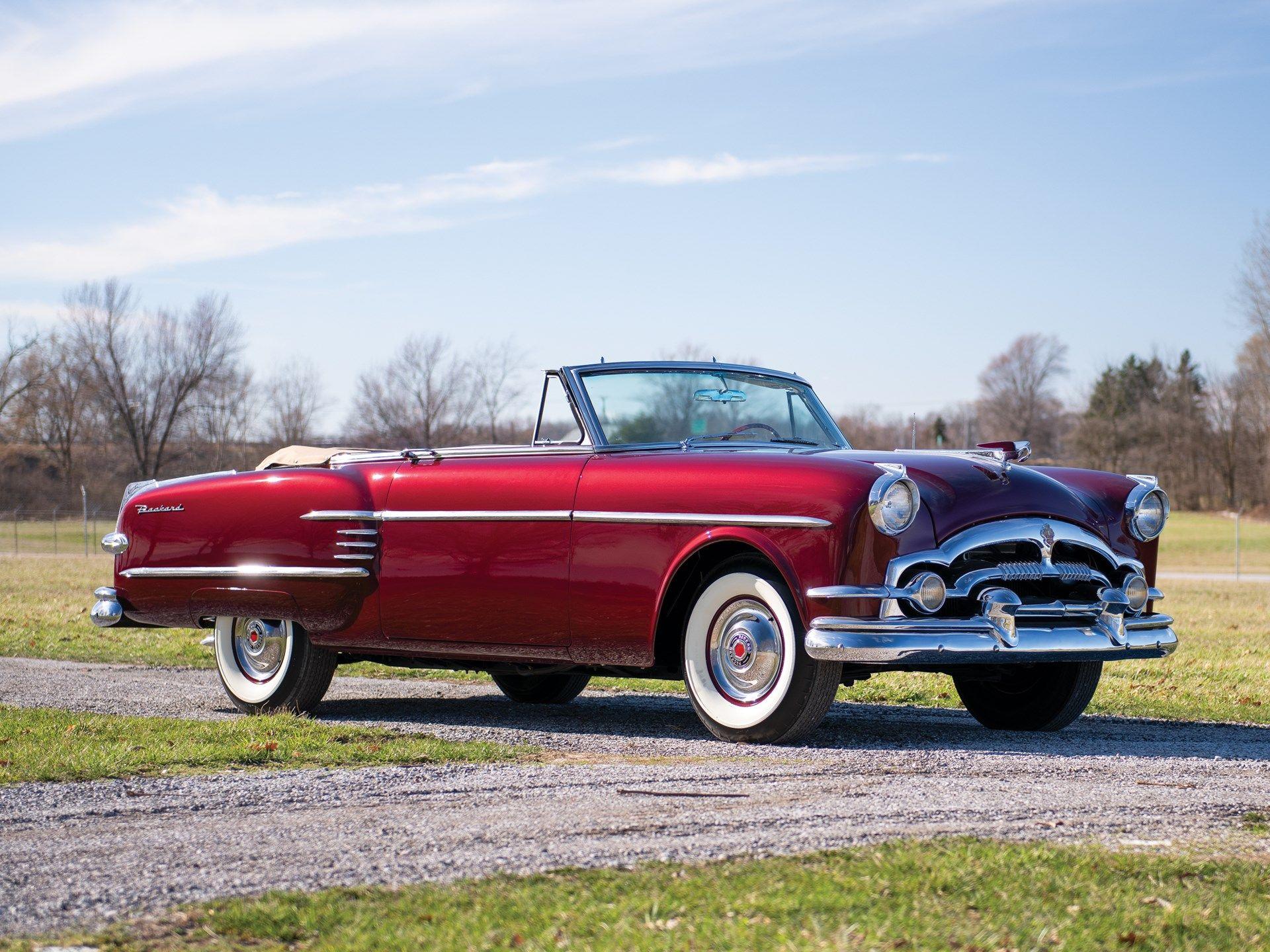 1954 Packard Convertible Packard, Convertible, Auburn