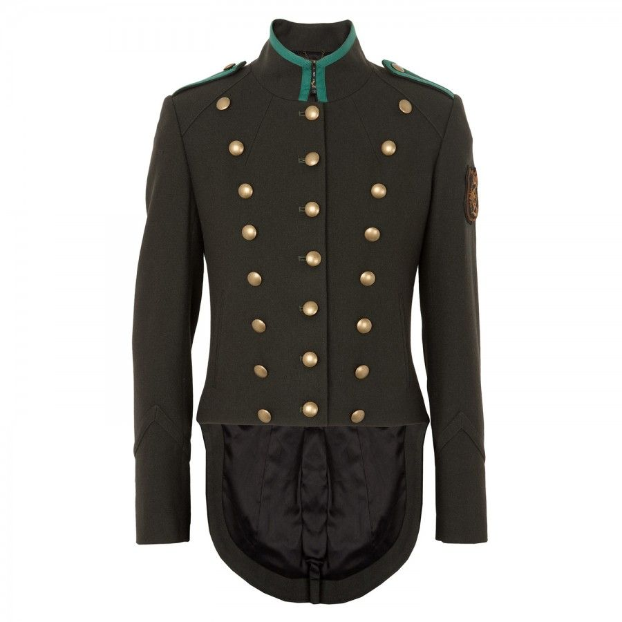 McQ Military Jacket with Tails