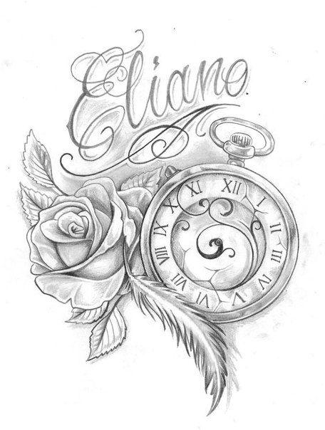 Pin De Estanco Los Andenes En Tatuajes Reloj De Bolsillo Tatuaje