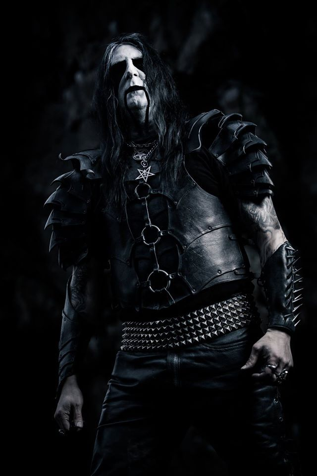 Lord Ahriman Of Dark Funeral Guitars Founder Photo By