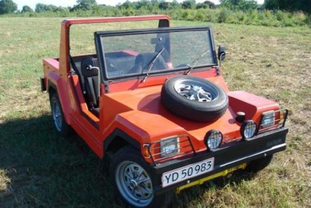 About 17 Were Made In Denmark Kit Car Based On Vdub
