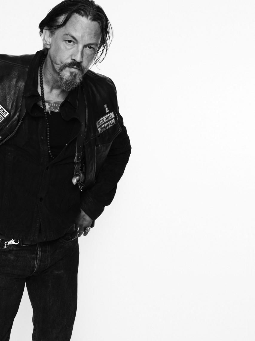Chibs - Sons of Anarchy  Spent the day in our dealership this summer!  Signed autographes, took pics...  He is AWESOME!