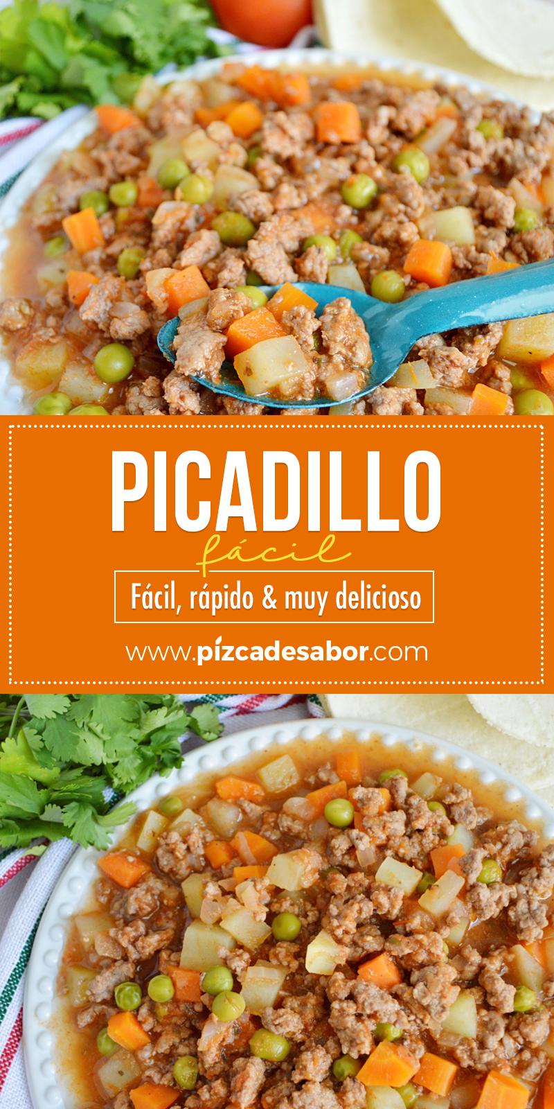 Cómo Hacer Picadillo Fácil Rápido Muy Delicioso Receta Comida Comidas Con Carne Molida Comida Deliciosa