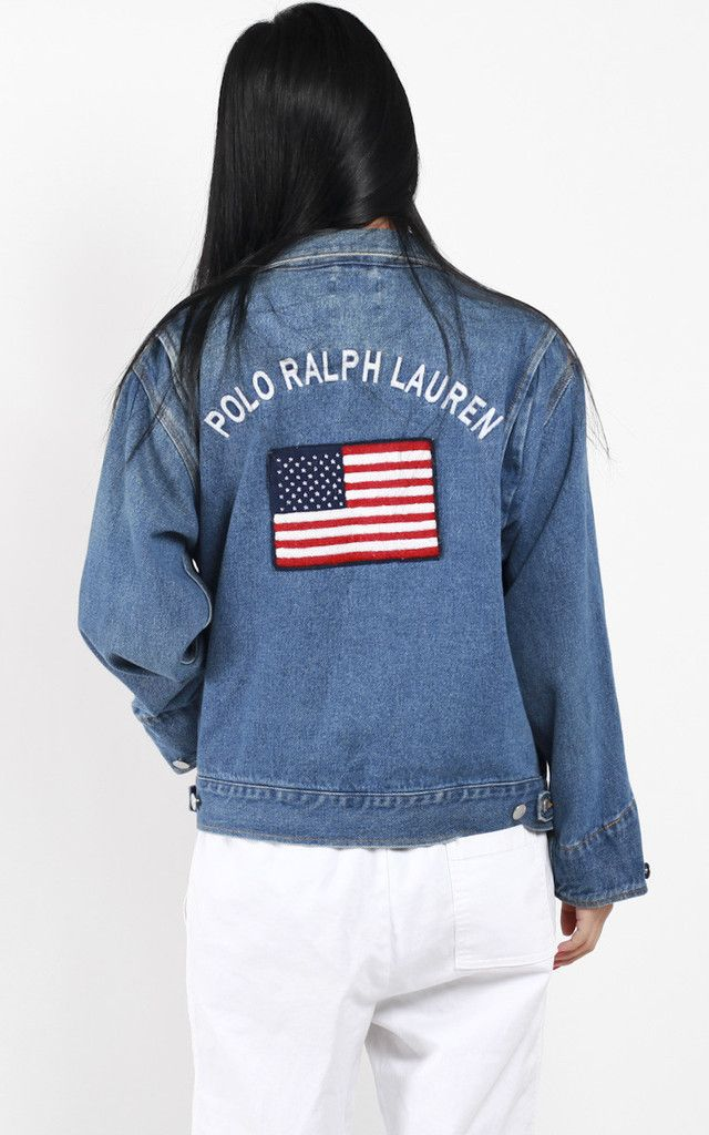 2c06bb0902 Vintage Polo Ralph Lauren Denim Jacket