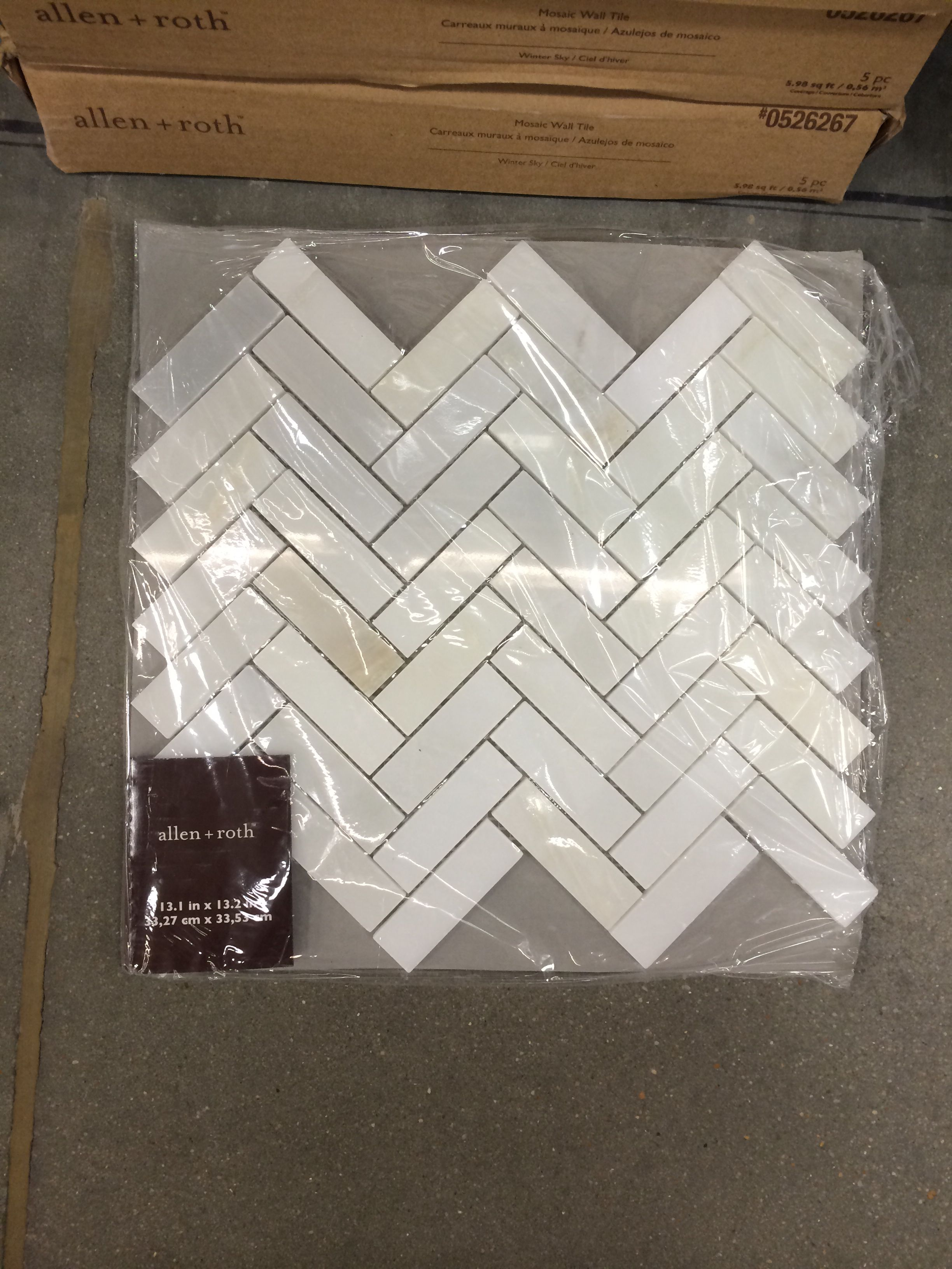 Lowes herringbone tile $12 98sf marble | Yellow tile | Herringbone