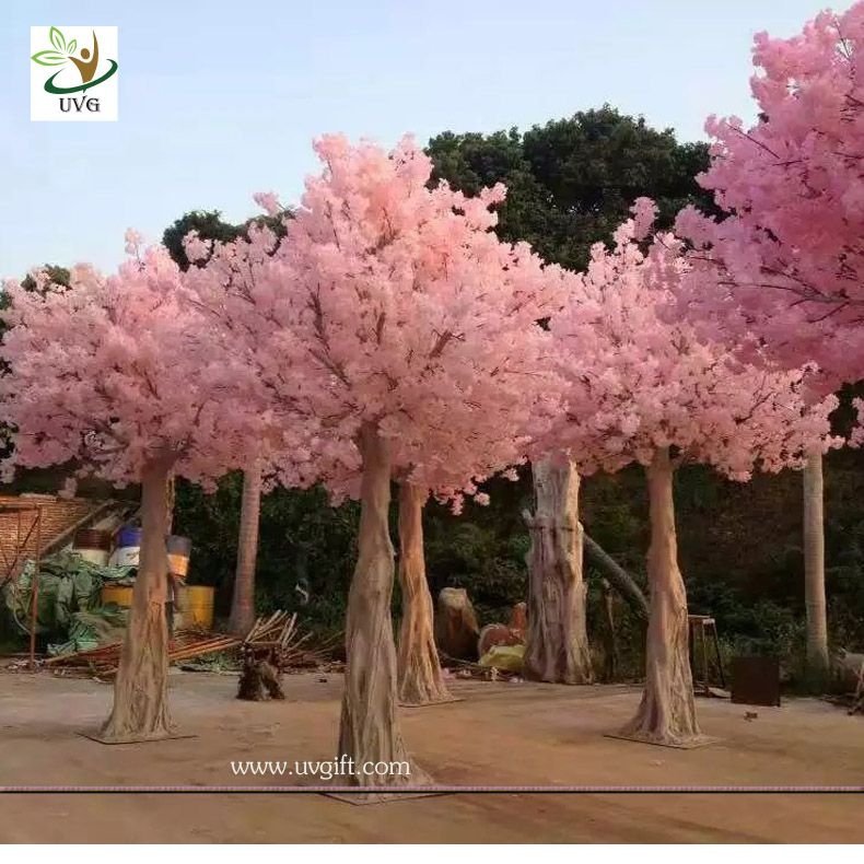 Uvg Chr128 Faux Blossoms Japanese Cherry Trees For Wedding Stage Decoration Various Siz Japanese Cherry Tree Artificial Cherry Blossom Tree Cherry Blossom Tree