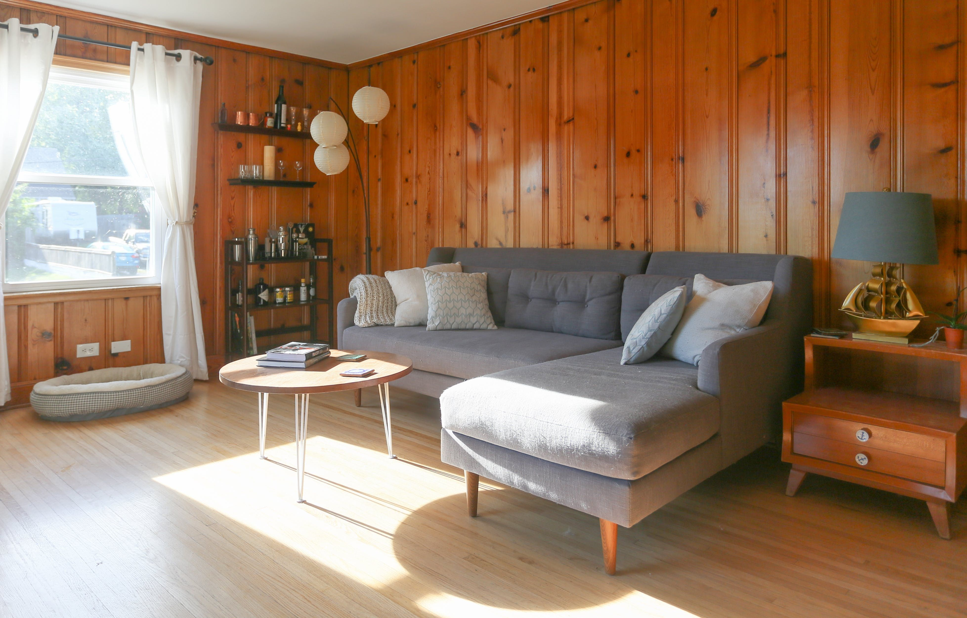 Drop the Paint Brush: Wood Paneling is Officially Cool ...
