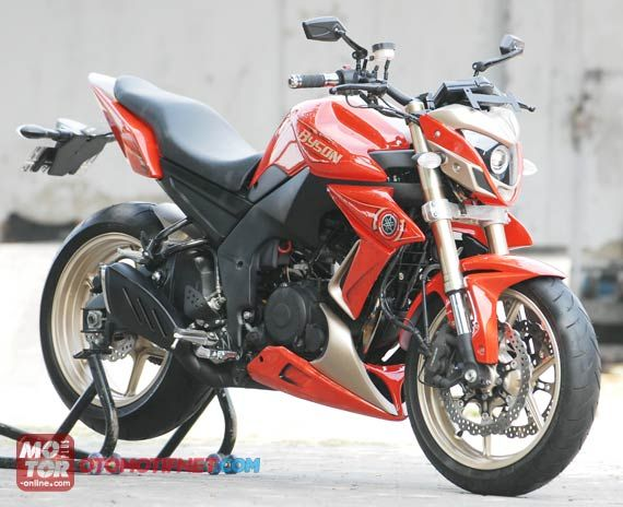 modifikasi byson model street fighter terkeren