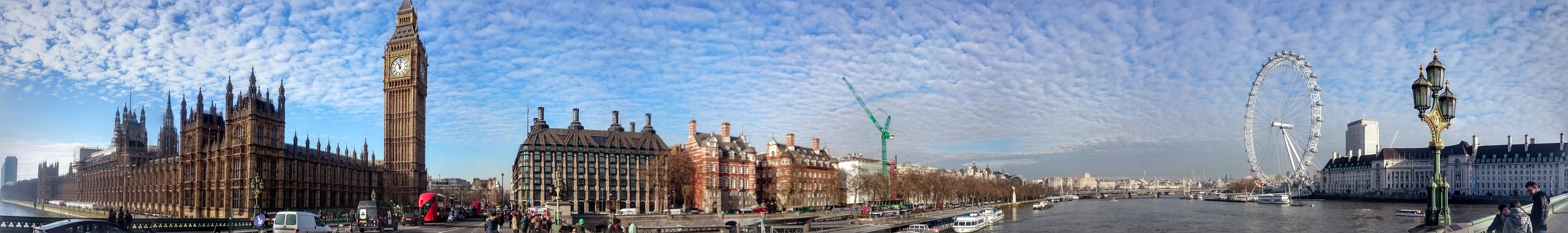 London Eye #London Big Ben #panoramas #8K #wallpaper # ...