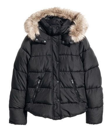 Black quilted jacket, H&M. FW 2017/2018 Trends
