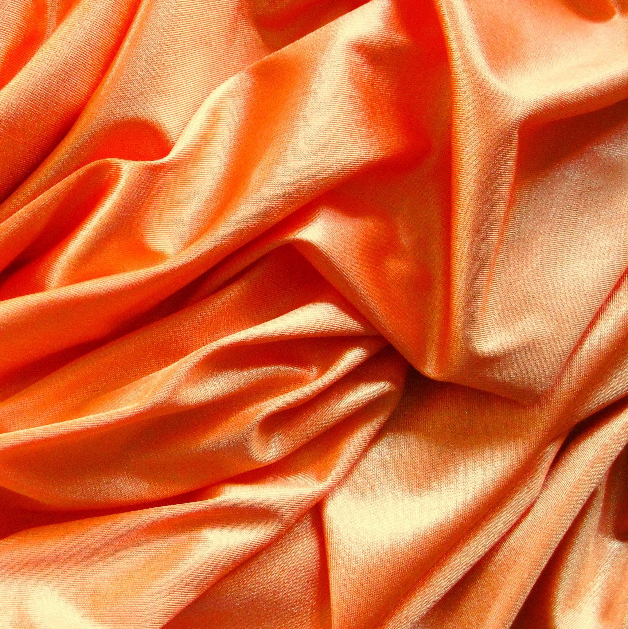 Clearance saleallure polished jersey stretch fabric