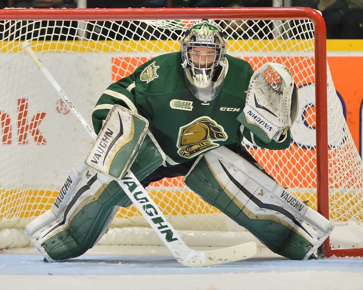 Tyler Parsons The Next Ones Nhl 2016 Draft Prospect Profile Hockey World Knight Hockey Goalie